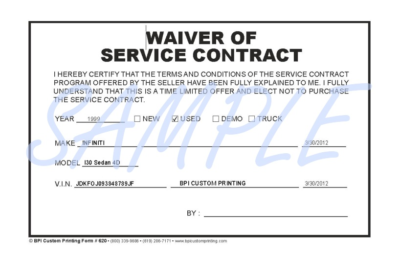 Simple Service Contract Example Of Terms Of Service Screenshot